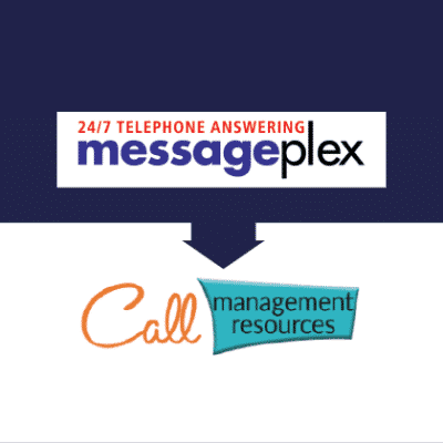 Messageplex and Call Management Resources logos